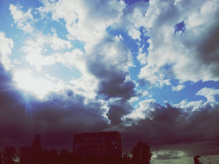 Sky And Clouds Colorphotos PhotoCollection First Eyeem Photo