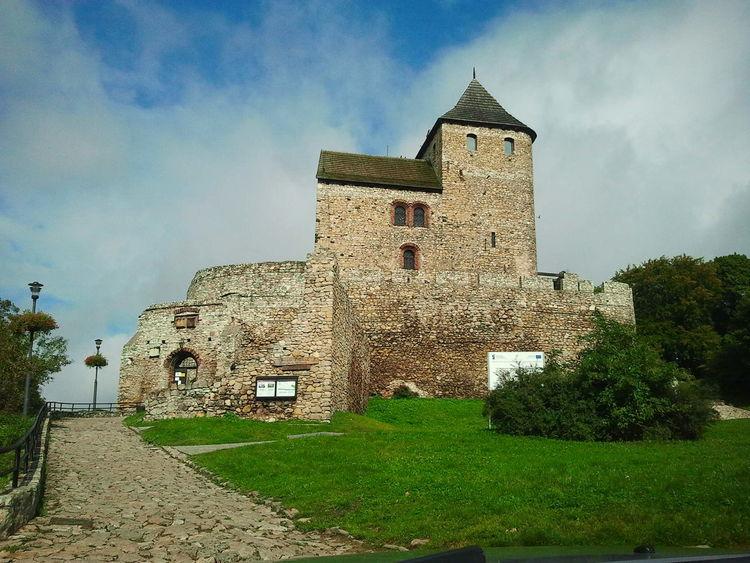 Castle bedcastle Będzin Castle Landscape