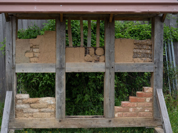 LWL Open Air Museum Detmold Architecture Built Structure Plant No People Building Exterior Day Window Building Wood - Material Growth Nature Tree House Outdoors Wall Brick Green Color Brick Wall Roof Wall - Building Feature Architectural Column Demonstration