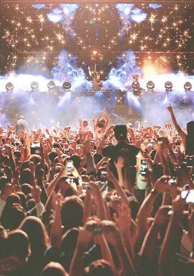 Electronic Music Shots Enjoying Life
