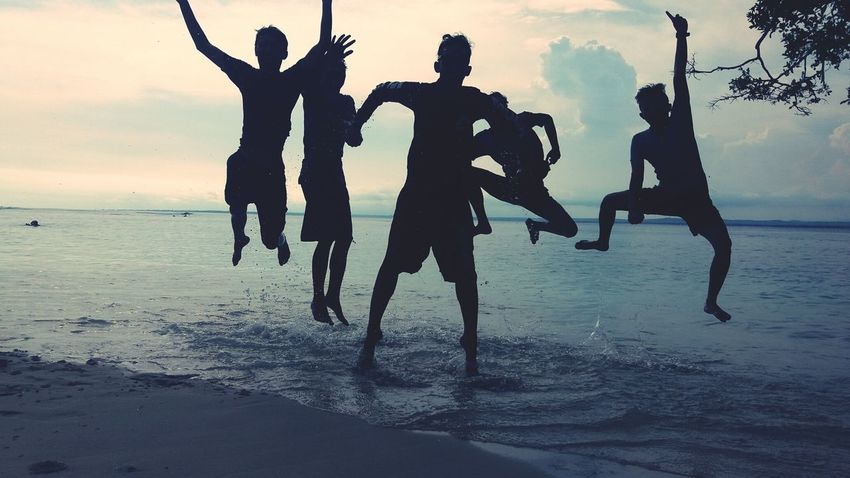 Holiday ..With my best friend First Eyeem Photo Beach Photography Newbie Pangandaran Beach Holiday