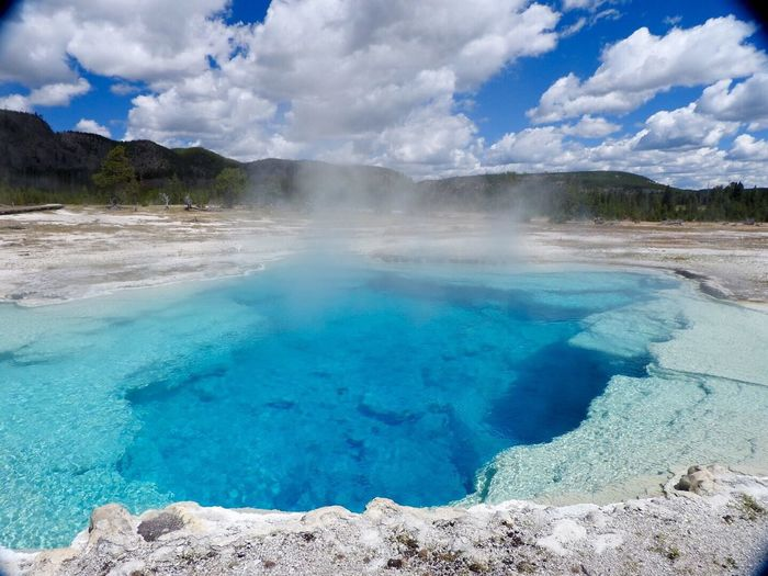 Sapphire Pool, Yellowstone National Park