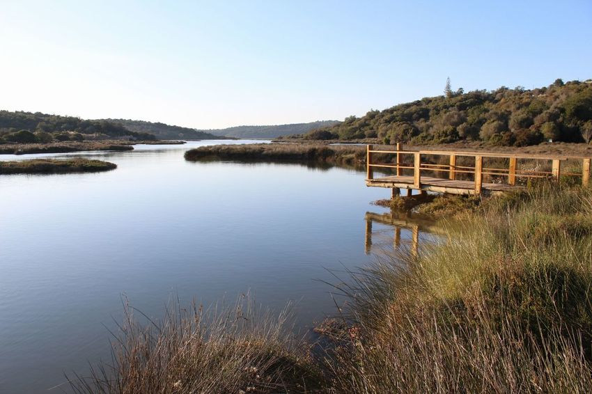 EyeEm Selects Water Reflection Outdoors Clear Sky No People Landscape Nature Sky Travel Destinations Tree Beauty In Nature Day Canon EOS 1300D Portugal 2018 Algarve