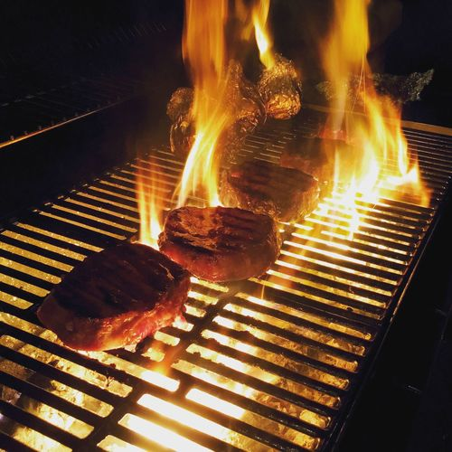 Make it burn! Meat Love Ribeye Fatbastard Fire Delicious EyeEmNewHere