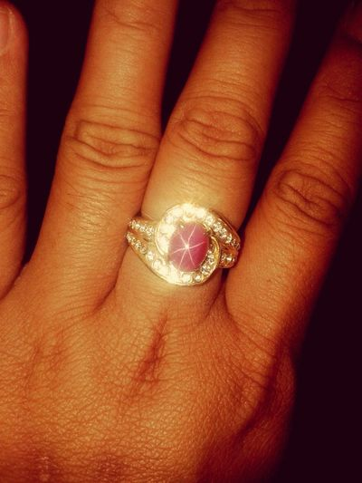 I love this ring , especially with this pink stone Taking Photos American Star Precious Stone
