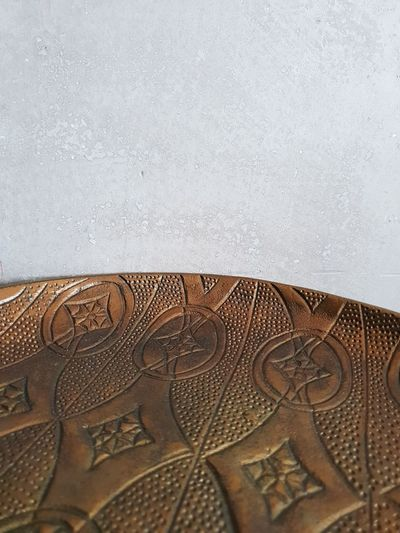 Details Wall Facades Shades Of Blue Table Pattern Pieces No People Round Table Paint Pastel Colors Golden Metallic Bronze Variation Large Group Of Objects Repetitive Pattern Lines And Shapes Beautiful Place The Creative - 2018 EyeEm Awards The Still Life Photographer - 2018 EyeEm Awards Coffee Table Interior Design Coin Full Frame Backgrounds Close-up Textured  Served Detail Surface Rough
