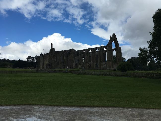 BoltonAbbey Abbey Amazing View Built Structure Architecture History Building Exterior