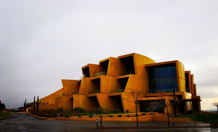 Architecture No People Business Finance And Industry Outdoors Built Structure Building Exterior Factory Sky Day Spain🇪🇸 Travel Destinations Riojaalavesa Circuito Viñedos Viños Bodega Architecture Rioja Alavesa