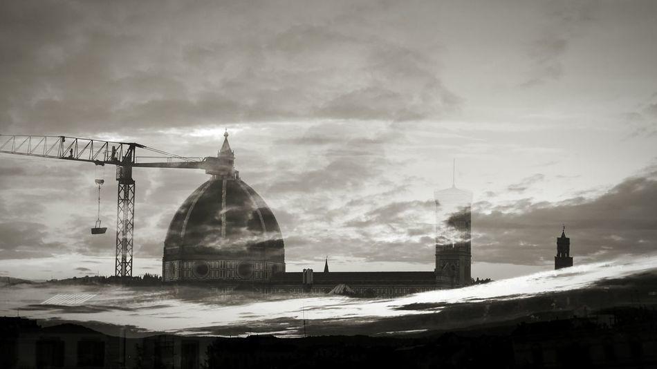 Luceat lux vestra Duomo Santa Maria Del Fiore Firenze Dome Architecture Florence Palazzo Vecchio Church Motivational Inspirational