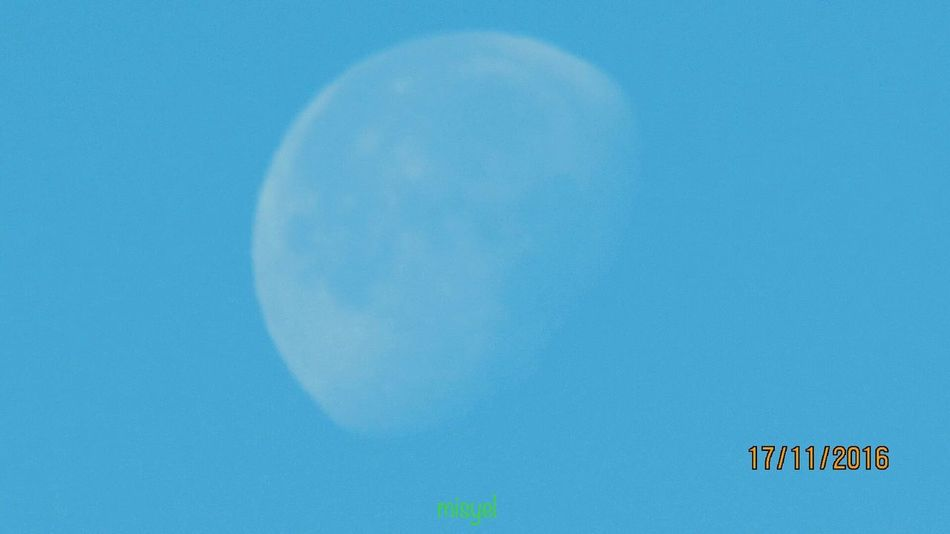Blue Moon Blue Sky Moon Nature Astronomy Beauty In Nature Cloud - Sky Blue World Once In A Blue Moon