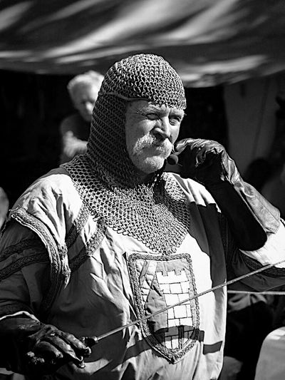 Bw_collection Portrait Black & White The Crusader ...