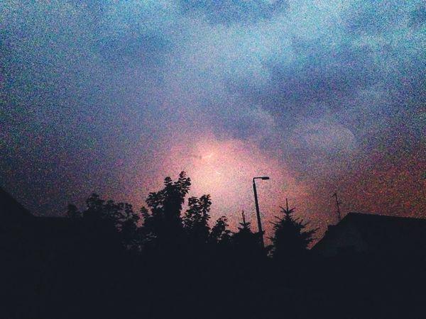 Stormclouds SummerNights ThunderStorm⚡ Wineglass