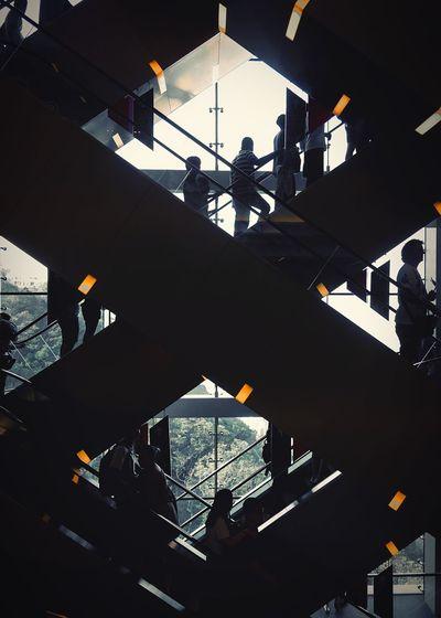 E S C A L A T O R S IPhone IPhoneography Instagramer Asthetic Peak Thepeak HongKong Escalators Escalator First Eyeem Photo EyeEmNewHere