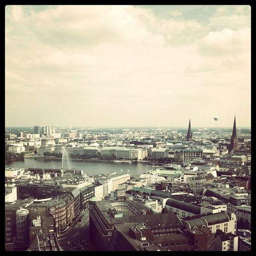 Hamburg, from 23rd floor AppSecEU