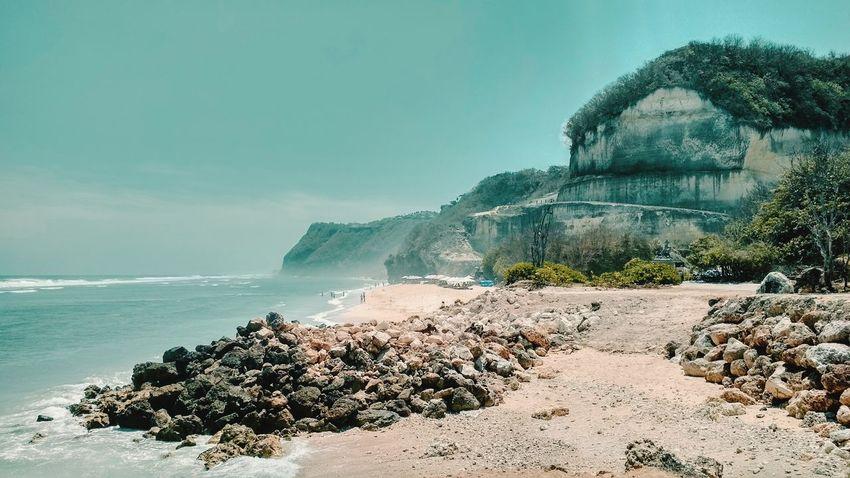 Water Power In Nature Sea Beach Tree Sand Sky Horizon Over Water