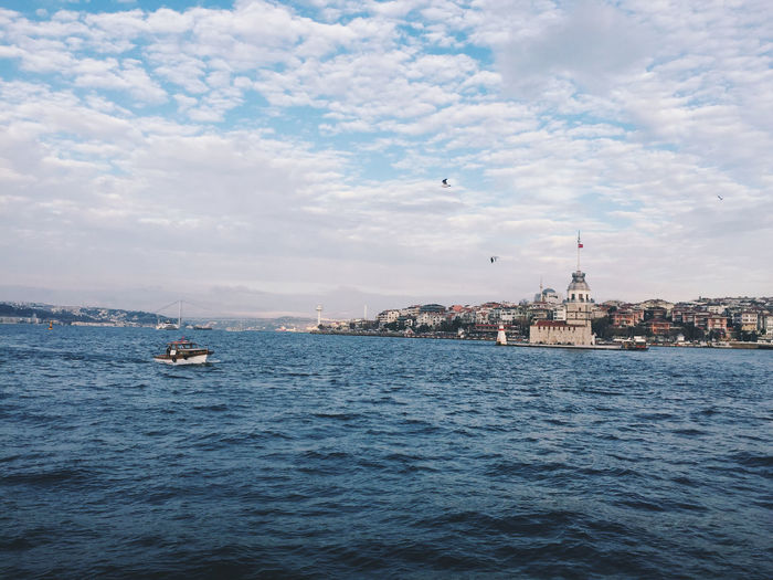 take ship just like daily activity for people in Istanbul