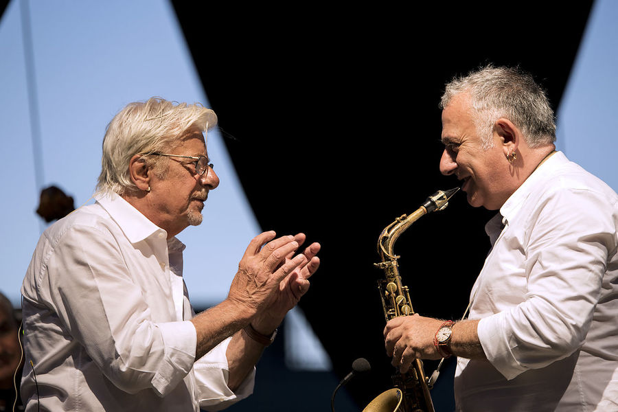 Giancarlo Giannini Jazz Marzo Zurzolo Attore Musica Musical Instrument Napoliphotoproject Poesie