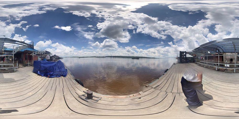 Photo Sphere  Pelabuhan Ferry Tenggarong