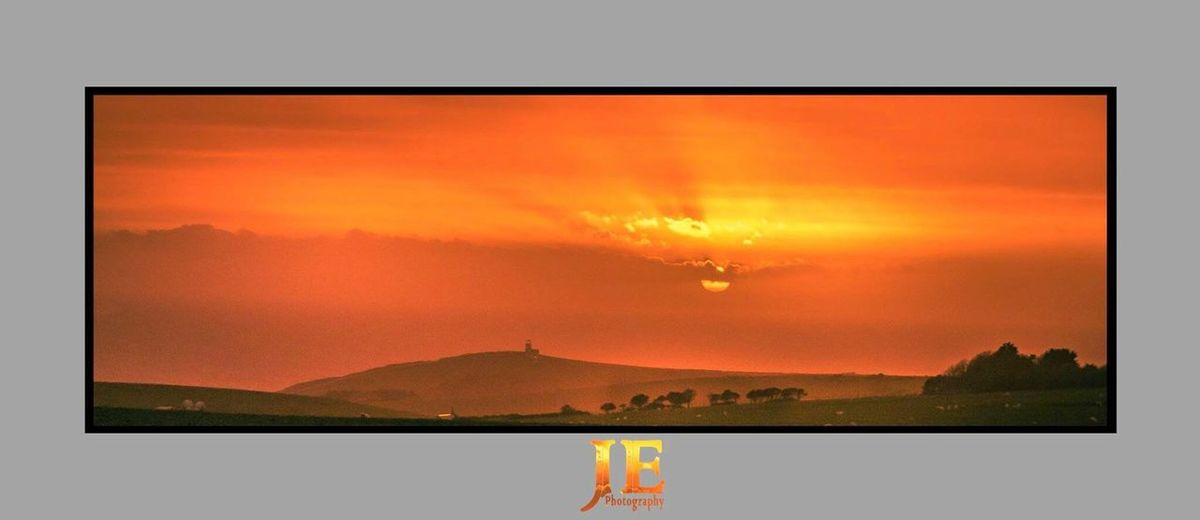 Sunset Dramatic Sky Mountain Sky Cloud - Sky Scenics Nature Silhouette Beauty In Nature Landscape Lake Rural Scene Outdoors Day No People
