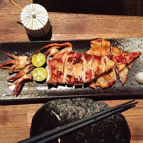 魷魚 Squid Dinner Enjoying A Meal Food Porn Awards The Foodie - 2015 EyeEm Awards