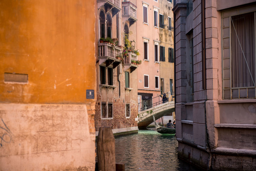 Venice, Italy Architecture Building Exterior Built Structure Canal City Day No People Outdoors Residential Building Venice Water Window