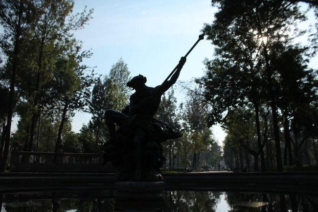 Rey marino #City #landscape #mexico #Morning #shadows Human Representation Sculpture Statue