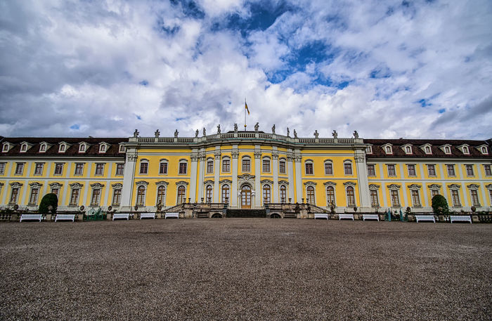 Ludwigsburg Ludwigsburger Schloss Architecture Travel Destinations Building Exterior No People Royalty Architecture Architecture_collection Cityscape City Outdoors Old Fashioned Building Old-fashioned Germany Europe Castle Palace Sky And Clouds Wide Angle Creative Photography Creativity TOWNSCAPE Town History