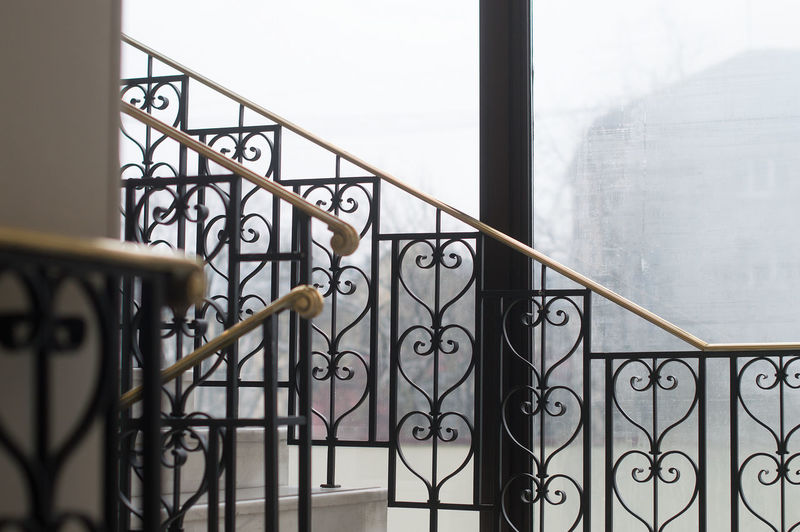 Staircase of balcony