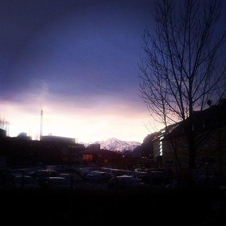 morgenstimmung an der brauerei #stiegl #untersberg Stiegl Untersberg