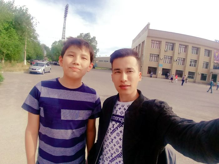 Friends Portrait Child Selfie Friendship Photography Themes Boys Togetherness Looking At Camera Childhood Standing Brother