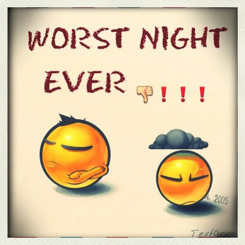 Not My Night