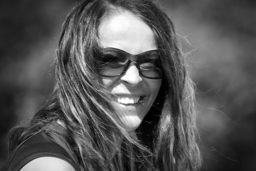 Black & White Adult Beautiful Woman Beauty Black Black And White Blackandwhite Blackandwhite Photography Fashion Focus On Foreground Front View Glasses Hair Hairstyle Headshot Lifestyles Long Hair One Person Portrait Real People Smiling Women Young Adult Young Women The Portraitist - 2018 EyeEm Awards