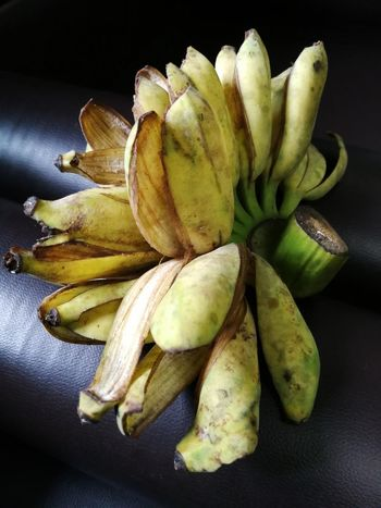 Banana Black Background Close-up Day Food Food And Drink Freshness Fruit Healthy Eating Indoors  No People