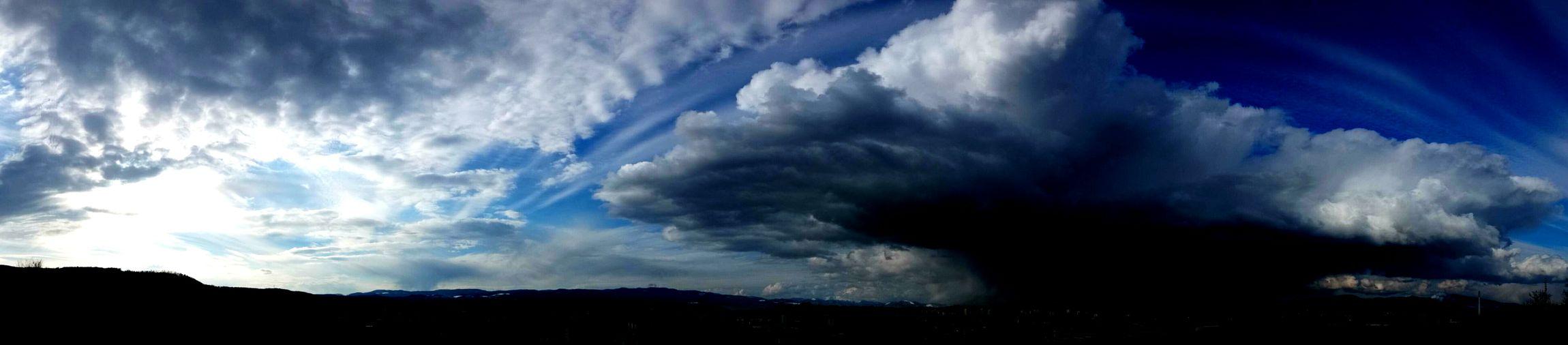Blue Sky Clouds City