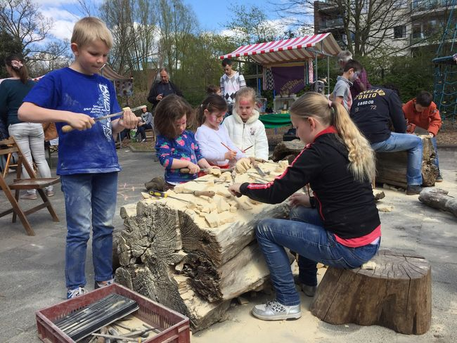 Waldorfschool Waldorfschule Rudolf Steiner School Vrijeschool Woodcarving Children
