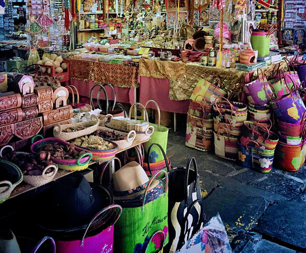 Choice Abundance Market Stall Market Variation Large Group Of Objects Retail  For Sale Multi Colored Indoors  Day No People Mauritius Beauty