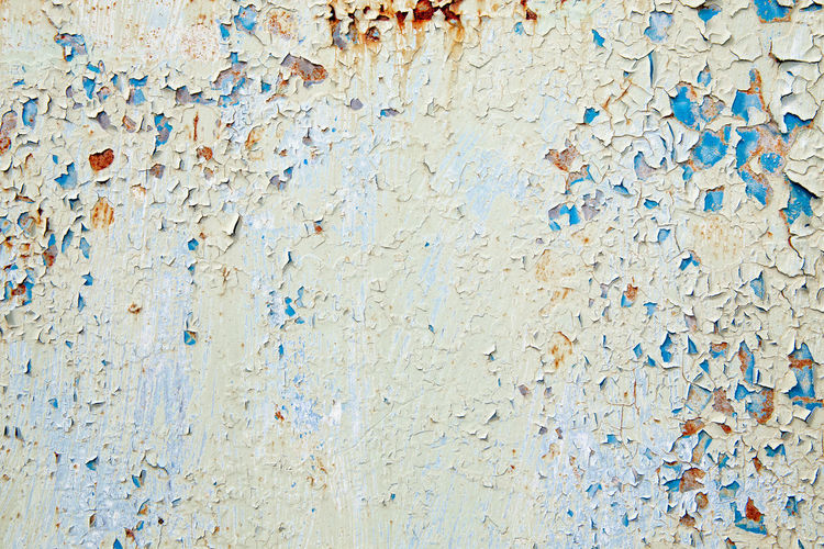 Rusted peeled paint metal background Pain Rust Rustic Abstract Architecture Backdrop Backgrounds Blue Close-up Damaged Dirty Full Frame Grunge Metal Multi Colored No People Outdoors Peeled Peeling Paint Rough Rusty Textured  Wall - Building Feature Weathered White Background