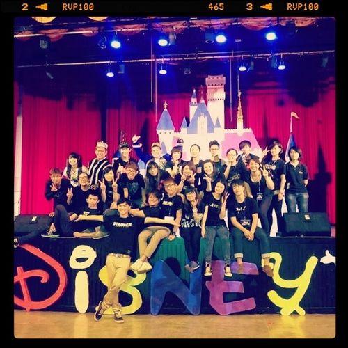 耶!! 我們完成了一項不可能的任務 we are the team !!! love u u ♥♥