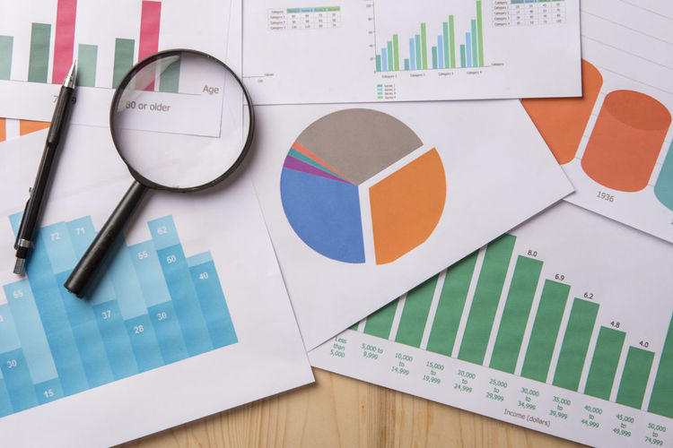 Analytics Backgrounds Business Business Finance And Industry Commerce Data Economy Finance Finance And Economy Finance Background Glass Graph Growth Investment Magnifying Glass Money Profit Report Trade
