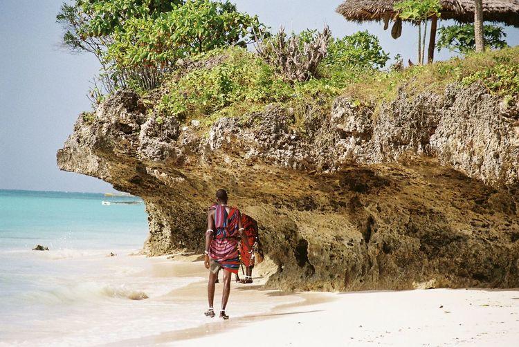 Maasai, Nungwi Beach, Zanzibar Maasai Nungwi Nungwibeach Zanzibar Tanzania