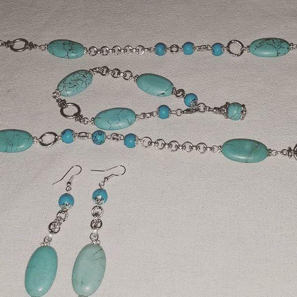 Summer jewelry Summerjewelry Bigiotteriaartigianale Bigiotteria Turquoise Turquoisestone Turchese Pietraturchese Pietredure Jewelryhomemade Hobby
