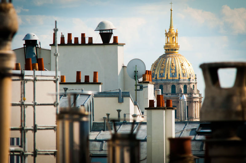 Over the roofs of Paris The Weel On EyeEm Skyline Paris Skyline Over The Roofs On The Rooftop Paris Cloud - Sky über Den Dachern Von Paris Tourist Attraction  Tourist Destination Paris, France  City Of Paris The Week On EyeEm Editor's Picks