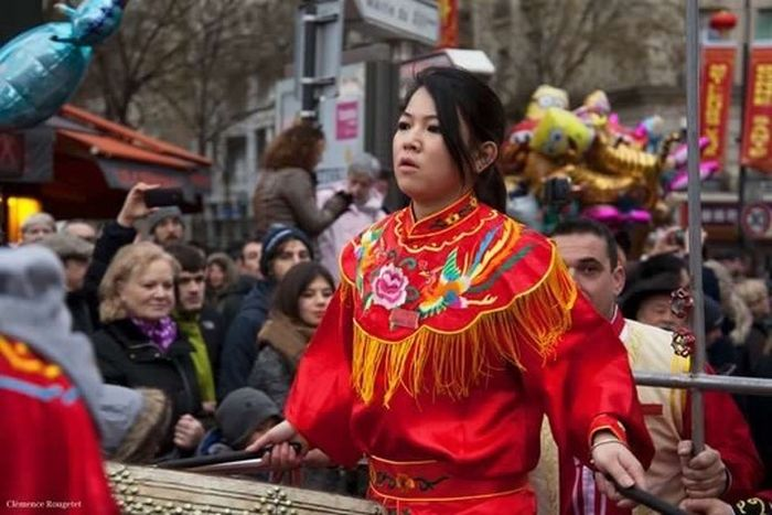 Nouvel An Chinois 2016, Paris 13e. Chinese New Year 2016 Woman Portrait Chinese New Year Paris Nouvel An Chinois