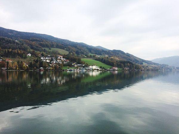 Salzburg Mondsee IPSLandscape Salzburg Mondsee Water Reflection Water Reflections IPSReflections IPSLeadingLines IPSNatural