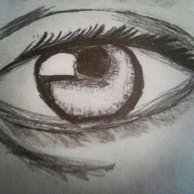 The eye I drew