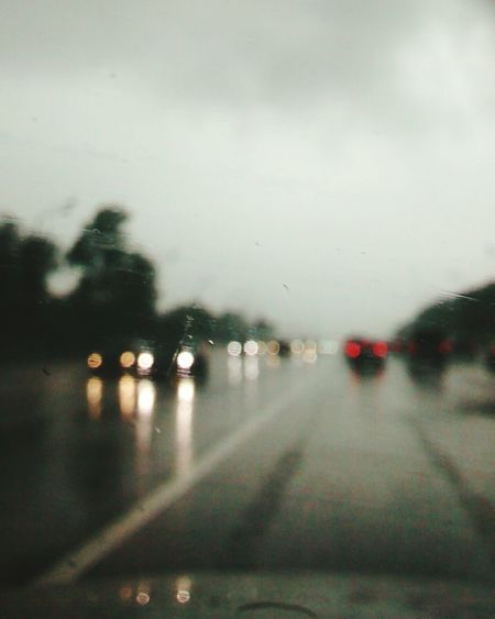 On The Road Raindrops Rain Road Urban 4 Filter EyeEm Best Shots EyeEm Best Edits Eye4photography  EyeEm Gallery
