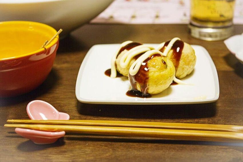 Takoyaki Soulfood OSAKA Japan Yummy Japanese  Food Hashi Lifestyles Lunchtime Teatime Love It Ultimate Japan Goodtaste