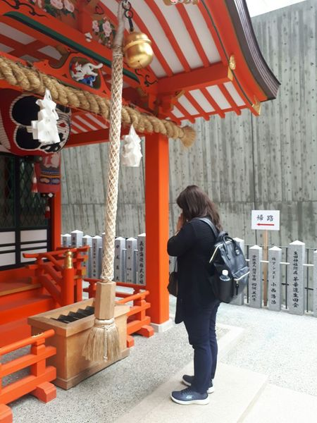 Prayforjapan Praying Time Day Shrine Of Japan One Person Goodluck Goodlife😍 Travel Destinations See You Again Japan