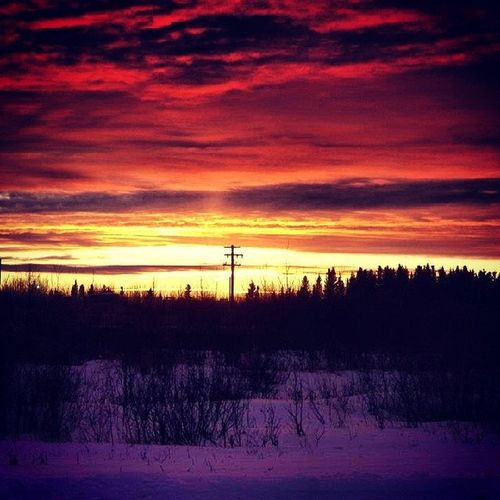 Sunset Fortmcmurray Lovely Sun beautiful relaxing 2012