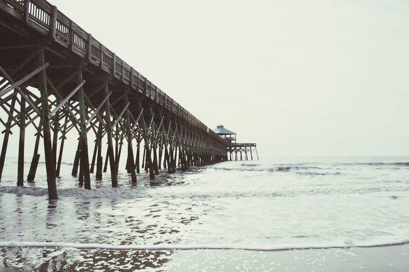Pier Ocean Ocean View Beach